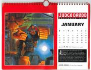 Judge Dredd Calendaer 1993