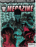 Judge Dredd Megazine Vol 5 Number 211 Cover 2 of 2