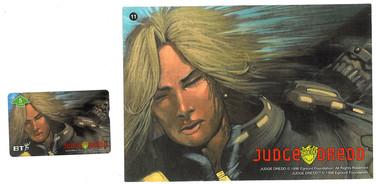 P&J Promotions Judge Dredd Series 1 number 11