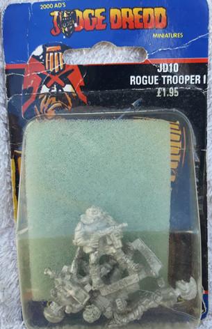 Citadel Blister Judge Dredd: JD10 Rogue Trooper 1