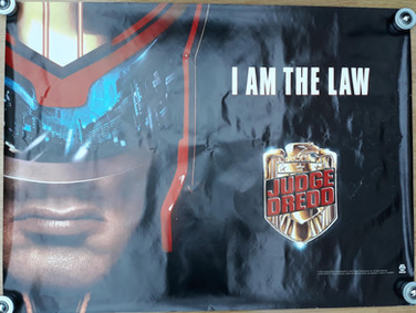 Judge Dredd 1995 Movie Poster UK Quad