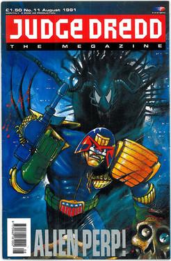 Judge Dredd Megazine Vol 1 Number 11