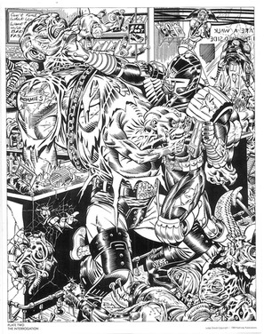 Judge Dredd and The Mutants of the Cursed Earth Part 3