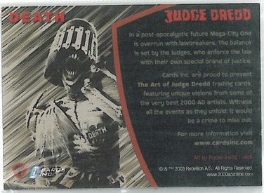 Strictly Ink Promo JDP3 Reverse