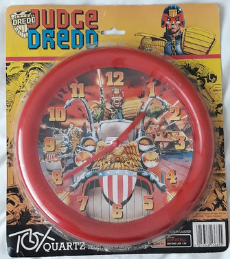 Judge Dredd Wall Clock