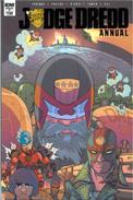 Judge Dredd Annual 1 Cover A