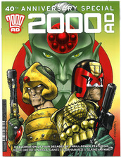 40th Anniversary Special Edition Carlos Ezquerra