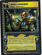 Dredd CCG: Judges - Judge Edwards