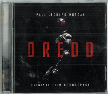 Judge Dredd 2012 Soundtrack CD