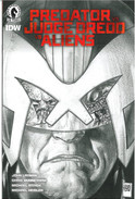 Predator vs Judge Dredd vs Aliens 1 Variant Cover