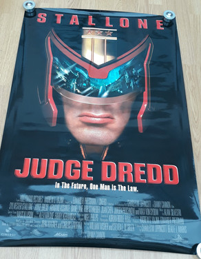 Judge Dredd 1995 Movie Poster