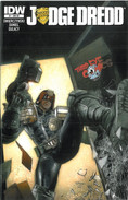 Judge Dredd 1 Cover RE Third Eye Comics