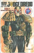 Judge Dredd 1 Cover RE Larry's Comics