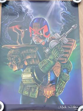 Mark Wilkinson Fine Art Prints Judge Dredd