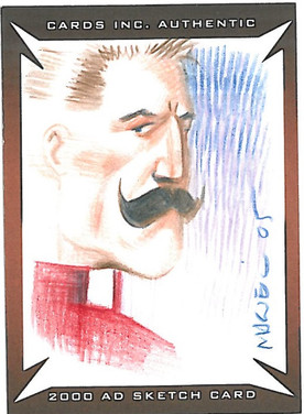Strictly Ink Sketch Card Devlin Waugh Colin MacNeil