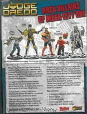Warlord: Judge Dredd Arch Villians of Mega-City One Rear