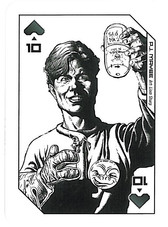 Playing Cards Megazine: Ten of Spades