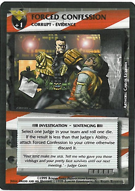 Dredd CCG: Incidents - Forced Confession