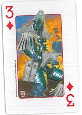 Playing Cards SFX: Three of Diamonds