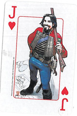 Playing Cards SFX: Jack of Hearts