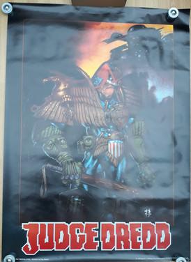 Judge Dredd Giant Poster 2