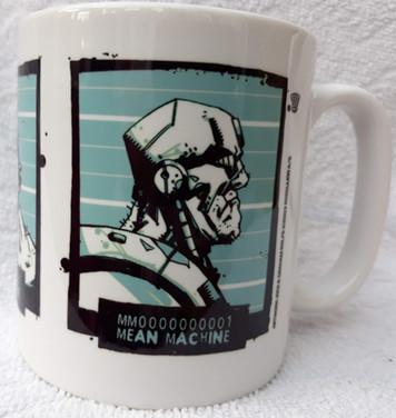 Mean Machine Mug Shot Mug