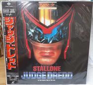 Judge Dredd 1995 Laserdisc Japanese