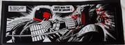 Judge Dredd vs Judge Fear Bar Runner