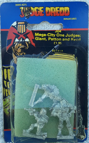 Citadel Blister Judge Dredd: JD4 Mega-City Judges