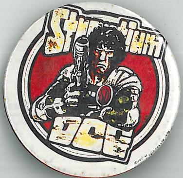 Strontium Dog Badge 1978