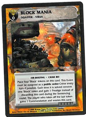 Dredd CCG: Events - Block Mania