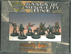Mongoose: Gangs of MC1 Boxset Under-City Gang