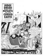 Judge Dredd and The Mutants of the Cursed Earth Part 1