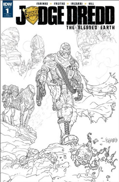 Judge Dredd Blessed Earth 1 Exclusive Cover