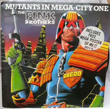 The Fink Brothers: Mutants In Mega-City One Free Poster