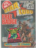 Starlord 1 Skateboard Strike Force Badge