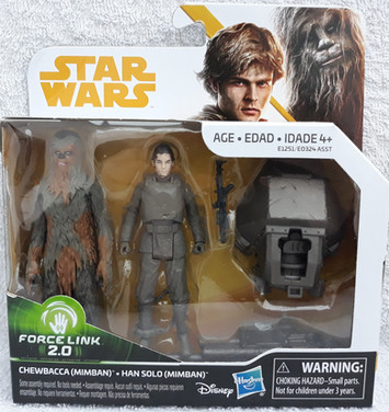 Twin Pack Han Solo & Chewbacca
