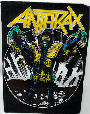 Anthrax Judge Death Back Patch