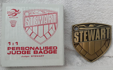 Planet Replicas: Custom Judge Badge Old Style