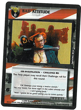 Dredd CCG: Incidents - Bad Attitude