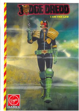 Judge Dredd Spectrum Game Poster