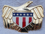 Termight Replicas: Judge Dredd Belt Buckle