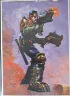 Simon Bisley Judge Dredd Print