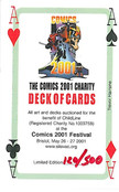 Comics 2001 Charity Playing Deck: 120 of 500