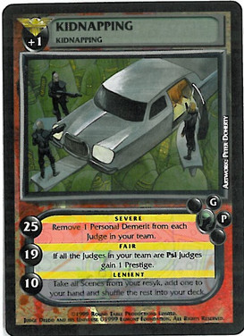 Dredd CCG: Crimes - Kidnapping