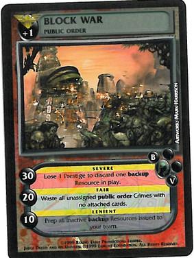 Dredd CCG: Crimes - Block War
