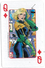 Playing Cards SFX: Queen of Diamonds