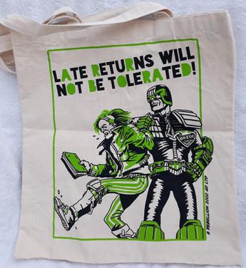 Judge Dredd Tote Bag