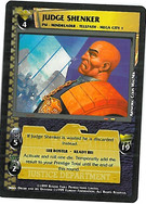 Dredd CCG: Judges - Judge Shenker