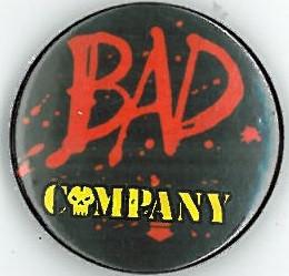 Bad Company Badge Eighties